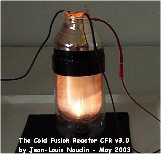 Cold Fusion Reactor experimental tests results by JL Naudin